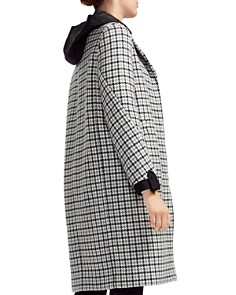 Maje - Glani Houndstooth Check Coat
